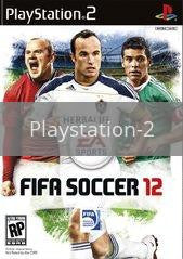 Image of FIFA Soccer 12 original video game for Playstation 2 classic game system. Rocket City Arcade, Huntsville Al. We ship used video games Nationwide