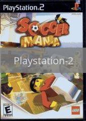 Image of Soccer Mania original video game for Playstation 2 classic game system. Rocket City Arcade, Huntsville Al. We ship used video games Nationwide