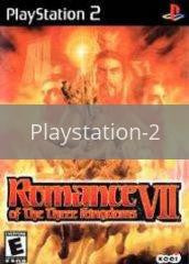 Image of Romance of the Three Kingdoms VII original video game for Playstation 2 classic game system. Rocket City Arcade, Huntsville Al. We ship used video games Nationwide