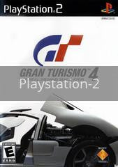 Image of Gran Turismo 4 original video game for Playstation 2 classic game system. Rocket City Arcade, Huntsville Al. We ship used video games Nationwide
