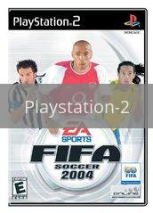 Image of FIFA 2004 original video game for Playstation 2 classic game system. Rocket City Arcade, Huntsville Al. We ship used video games Nationwide
