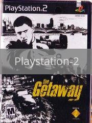 Image of The Getaway original video game for Playstation 2 classic game system. Rocket City Arcade, Huntsville Al. We ship used video games Nationwide