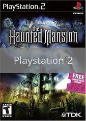 Image of Haunted Mansion original video game for Playstation 2 classic game system. Rocket City Arcade, Huntsville Al. We ship used video games Nationwide