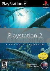 Image of Sea Monsters Prehistoric Adventure original video game for Playstation 2 classic game system. Rocket City Arcade, Huntsville Al. We ship used video games Nationwide