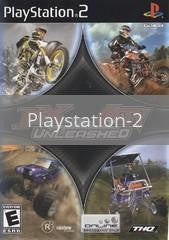 Image of MX vs. ATV Unleashed original video game for Playstation 2 classic game system. Rocket City Arcade, Huntsville Al. We ship used video games Nationwide