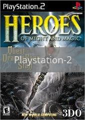 Image of Heroes of Might and Magic original video game for Playstation 2 classic game system. Rocket City Arcade, Huntsville Al. We ship used video games Nationwide