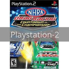 Image of NHRA Countdown to the Championship 2007 original video game for Playstation 2 classic game system. Rocket City Arcade, Huntsville Al. We ship used video games Nationwide