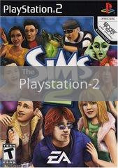 Image of The Sims 2 original video game for Playstation 2 classic game system. Rocket City Arcade, Huntsville Al. We ship used video games Nationwide
