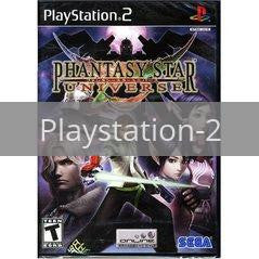 Image of Phantasy Star Universe original video game for Playstation 2 classic game system. Rocket City Arcade, Huntsville Al. We ship used video games Nationwide