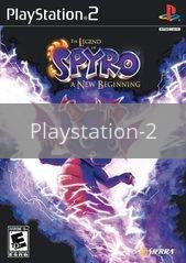 Image of Legend of Spyro A New Beginning original video game for Playstation 2 classic game system. Rocket City Arcade, Huntsville Al. We ship used video games Nationwide