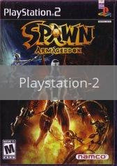 Image of Spawn Armageddon original video game for Playstation 2 classic game system. Rocket City Arcade, Huntsville Al. We ship used video games Nationwide