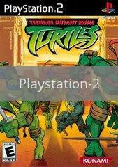 Image of Teenage Mutant Ninja Turtles original video game for Playstation 2 classic game system. Rocket City Arcade, Huntsville Al. We ship used video games Nationwide
