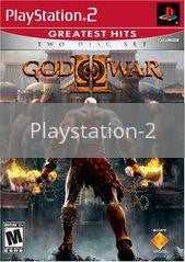 Image of God of War 2 original video game for Playstation 2 classic game system. Rocket City Arcade, Huntsville Al. We ship used video games Nationwide