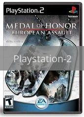 Image of Medal of Honor European Assault original video game for Playstation 2 classic game system. Rocket City Arcade, Huntsville Al. We ship used video games Nationwide