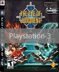 Image of Eye of Judgment original video game for Playstation 3 classic game system. Rocket City Arcade, Huntsville Al. We ship used video games Nationwide