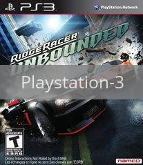 Image of Ridge Racer Unbounded original video game for Playstation 3 classic game system. Rocket City Arcade, Huntsville Al. We ship used video games Nationwide