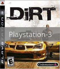 Image of Dirt original video game for Playstation 3 classic game system. Rocket City Arcade, Huntsville Al. We ship used video games Nationwide