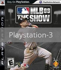 Image of MLB 09: The Show original video game for Playstation 3 classic game system. Rocket City Arcade, Huntsville Al. We ship used video games Nationwide