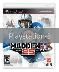 Image of Madden NFL 25 original video game for Playstation 3 classic game system. Rocket City Arcade, Huntsville Al. We ship used video games Nationwide