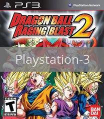 Image of Dragon Ball: Raging Blast 2 original video game for Playstation 3 classic game system. Rocket City Arcade, Huntsville Al. We ship used video games Nationwide