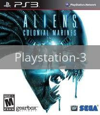 Image of Aliens Colonial Marines original video game for Playstation 3 classic game system. Rocket City Arcade, Huntsville Al. We ship used video games Nationwide
