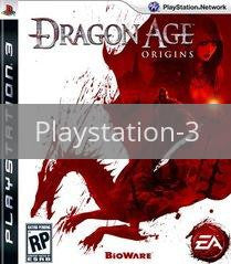 Image of Dragon Age: Origins original video game for Playstation 3 classic game system. Rocket City Arcade, Huntsville Al. We ship used video games Nationwide