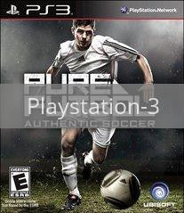 Image of Pure Futbol original video game for Playstation 3 classic game system. Rocket City Arcade, Huntsville Al. We ship used video games Nationwide