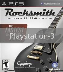 Image of Rocksmith 2014 original video game for Playstation 3 classic game system. Rocket City Arcade, Huntsville Al. We ship used video games Nationwide
