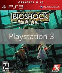 Image of BioShock original video game for Playstation 3 classic game system. Rocket City Arcade, Huntsville Al. We ship used video games Nationwide