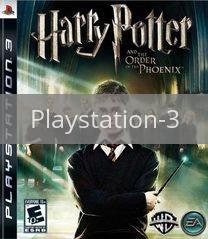 Image of Harry Potter and the Order of the Phoenix original video game for Playstation 3 classic game system. Rocket City Arcade, Huntsville Al. We ship used video games Nationwide