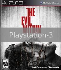 Image of The Evil Within original video game for Playstation 3 classic game system. Rocket City Arcade, Huntsville Al. We ship used video games Nationwide