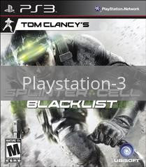Image of Splinter Cell: Blacklist original video game for Playstation 3 classic game system. Rocket City Arcade, Huntsville Al. We ship used video games Nationwide