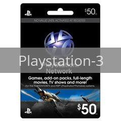 50 Dollar PSN Card