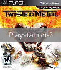 Image of Twisted Metal original video game for Playstation 3 classic game system. Rocket City Arcade, Huntsville Al. We ship used video games Nationwide