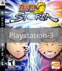 Image of Naruto Shippuden Ultimate Ninja Storm original video game for Playstation 3 classic game system. Rocket City Arcade, Huntsville Al. We ship used video games Nationwide