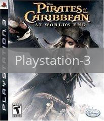 Image of Pirates of the Caribbean At World's End original video game for Playstation 3 classic game system. Rocket City Arcade, Huntsville Al. We ship used video games Nationwide