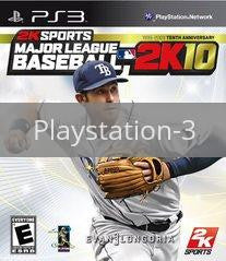 Image of Major League Baseball 2K10 original video game for Playstation 3 classic game system. Rocket City Arcade, Huntsville Al. We ship used video games Nationwide
