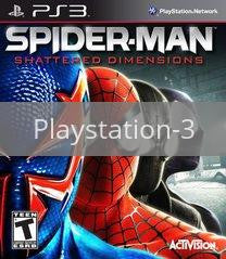 Image of Spider-Man: Shattered Dimensions original video game for Playstation 3 classic game system. Rocket City Arcade, Huntsville Al. We ship used video games Nationwide