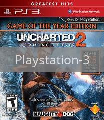 Image of Uncharted 2: Among Thieves Game of Year Edition original video game for Playstation 3 classic game system. Rocket City Arcade, Huntsville Al. We ship used video games Nationwide