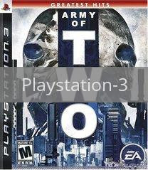 Image of Army of Two original video game for Playstation 3 classic game system. Rocket City Arcade, Huntsville Al. We ship used video games Nationwide
