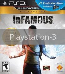 Image of Infamous Dual Pack (1&2) original video game for Playstation 3 classic game system. Rocket City Arcade, Huntsville Al. We ship used video games Nationwide