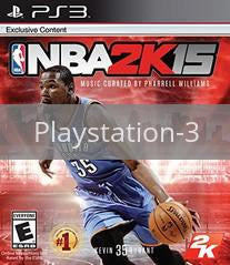 Image of NBA 2K15 original video game for Playstation 3 classic game system. Rocket City Arcade, Huntsville Al. We ship used video games Nationwide