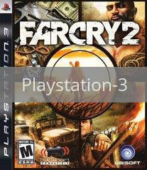 Image of Far Cry 2 original video game for Playstation 3 classic game system. Rocket City Arcade, Huntsville Al. We ship used video games Nationwide