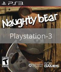 Image of Naughty Bear original video game for Playstation 3 classic game system. Rocket City Arcade, Huntsville Al. We ship used video games Nationwide