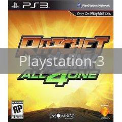 Image of Ratchet & Clank: All 4 One original video game for Playstation 3 classic game system. Rocket City Arcade, Huntsville Al. We ship used video games Nationwide