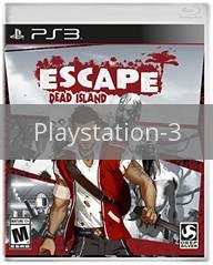 Image of Escape Dead Island original video game for Playstation 3 classic game system. Rocket City Arcade, Huntsville Al. We ship used video games Nationwide