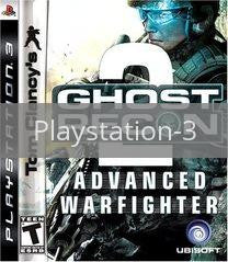 Image of Ghost Recon Advanced Warfighter 2 original video game for Playstation 3 classic game system. Rocket City Arcade, Huntsville Al. We ship used video games Nationwide