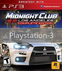 Image of Midnight Club Los Angeles Complete Edition original video game for Playstation 3 classic game system. Rocket City Arcade, Huntsville Al. We ship used video games Nationwide