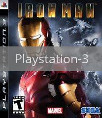 Image of Iron Man original video game for Playstation 3 classic game system. Rocket City Arcade, Huntsville Al. We ship used video games Nationwide