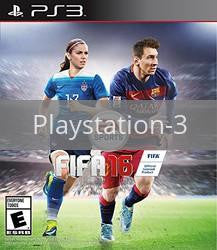 Image of FIFA 16 original video game for Playstation 3 classic game system. Rocket City Arcade, Huntsville Al. We ship used video games Nationwide
